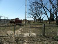 Bascom Tract is totally fenced and cross fenced with