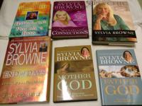 Sylvia browne books 20$ takes all books pickup only