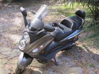 2009 SYM RV 250 Silver Scooter