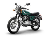 The Sym Wolf Classic 150 display its aggressiveness and
