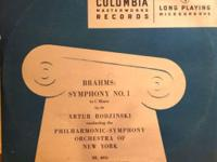 This is the vinyl LP of Brahms: Symphony No. 1 in C