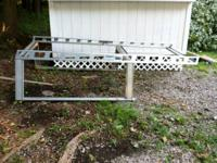 SYSTEM ONE ALUMINUM LADDER RACK LIKE NEW !!! PRICE THEM