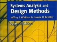 SYSTEMS ANALYSIS AND DESIGN METHODS 7/ed (English) 7th
