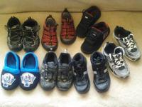 sz 11/12 (little) Boys shoes - All cleaned -bottoms not