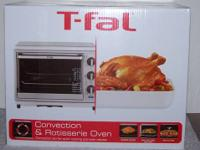 T-FAL Stainless Steel Convection & Rotisserie Toaster