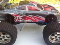 I have a Traxxas T-maxx for sale.  One of a kind