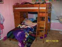 T Shaped bunk beds. in good condition. Our kids have