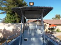 This T-Top was constructed by the Boston Whaler