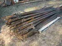 HAVE ABOUT 150 STEEL FENCE POSTS FOR SALE SOME HAVE
