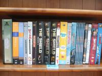 T.V. Series DVD Sets - $5.00 each.  Titles Include: