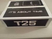 T25 by beachbody, brand new in box unopened.  Got as a