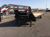 Heavy Duty Deckover Tilt Trailer, Tilt Bed Trailers, PJ