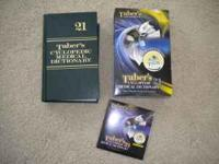 Taber's Cyclopedic Medical Dictionary 21 -Perfect