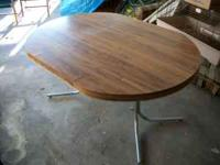 We are selling this table because we don't need it