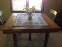 beautful antique 5 leg table ... The wood is stunning
