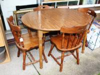 Table and Chair Set ONLY $49 for the set. Lots of