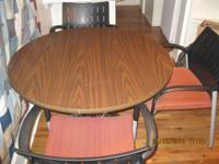 Like new and barely used a 3 1/2' Round table and 3