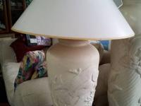 We have several lamps to choose from,  Floor lamp,