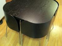 Type: Dining RoomType: SetsFusion Table and 4 Chairs,