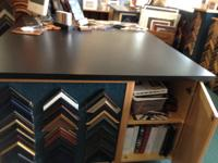 Wonderful work/design table.  5' x 6' top, 3' high.