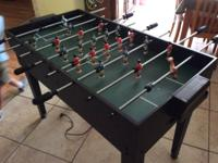 Table Game Foosball Air Hock. $20