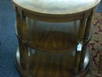 3 new tables in stock this week. #1 Heritage, round
