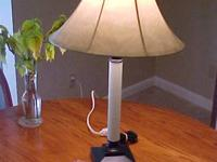 We have a number of lamps for sale at $9,00 Each. 1. -