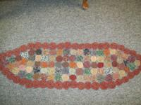Table runner made from yoyos. $10.  // //]]> Location: