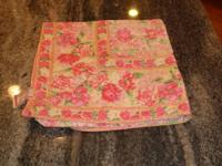 April Cornell cotton tablecloth. Approximately 53 in