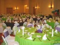 We offer all the following: Table linens, table