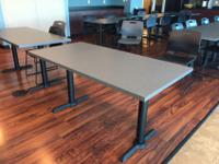 "11 Tables Two sizes: 30""D x 48""W (5 Tables) and 30""D x"