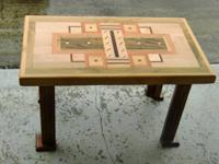 Small tables 3ft for $50.00 and stools or short tables