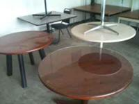 We have a large selection of office tables for sale.
