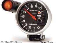Auto-Meter Tach. with shift light. $65.00  Location: