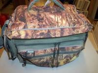 Plano tackle box for sale. Is a soft camo case w/ lots
