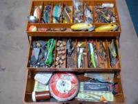 I have a smaller tackle box, but still very full. every