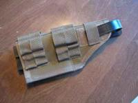 tactical tailer brand modular molle holster, fits many