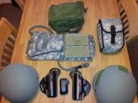 Im selling or trading my tactical gear. I have ACH