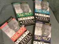 I have set of Billy Blanks Tae Bo workout tapes. In