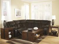 """All new"" ""Tafton - Java""Reclining Sectional $1299 ***"
