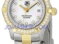 TAG Heuer Aquaracer Diamond Set Bi-Metal Bracelet