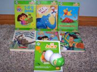 Tag Junior learning to read and 6 books!  Dora, If I