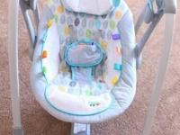 Portable baby swing. Great condition. No rips or