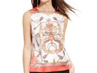 Sport high style with Tahari by ASL's status print
