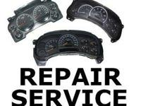 I do vehicle gauge collection repair services on lots