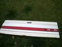 selling tail gate for f150, white, good shape, $75 -