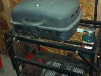 Tailgate grill perfect for camping or just a day at the