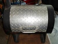 $90.00 OBO Custom. . .Tailgate BBQ Pit Smoker and