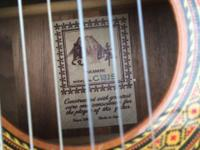 1987 Classical Takamine Acoustic with nylon strings.