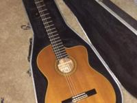 Beautiful Takamine cutaway acoustic guitar with
